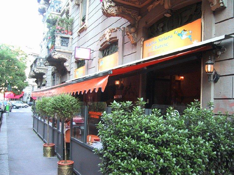 ristorante libanese aladino milano