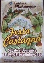 Festa della Castagna di Caprese Michelangelo